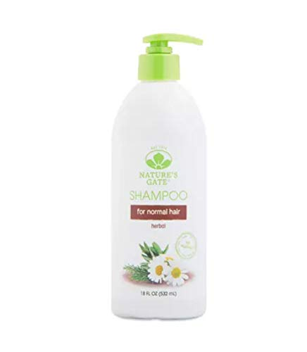 Nature's Gate Herbal Daily Cleansing Shampoo For Normal Hair, 18 Ounce (Pack of 4) ()