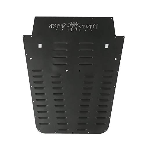 IOOkME-H Vented Hood Louver Kit for 2013-2017 Jeep Wrangler JK Aluminum Alloy Louver Panel