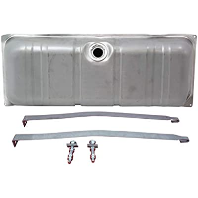 Fuel Tank Compatible with 1961-1964 Chevrolet Impala/Bel Air/Biscayne with Fuel Tank Strap Set of 3: Automotive