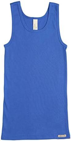 ボーイズ インナー シャツ・部屋干し・男の子 下着 子供・ 抗菌防臭 綿 オーガニックコットン Inner Shirt Boys [Comazo]
