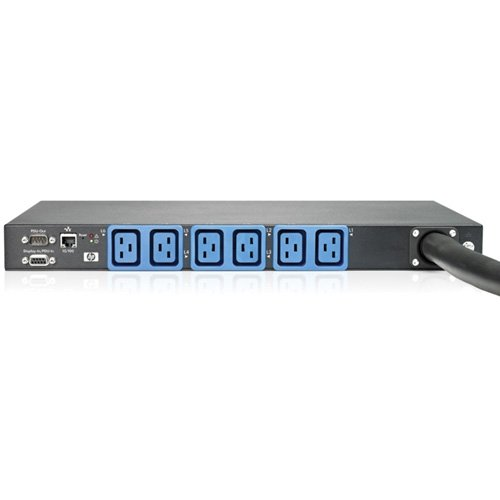 "Hp Intelligent Modular Power Distribution Unit - Power Distribution Unit ( Rack-Mountable ) - Ac 208 V - 8600 Va - 6 Output Connector(S) - 1U - With 4X Standard Extension Bar (Five Iec C13 Outlets) - For Hp 10647G2 1200, Proliant Dl160 Gen8, Ml310e Gen8, Ml350e Gen8, Rack 10Xxx, 10Xxx G2 ""Product Type: Ups/Power Devices/Power Distribution Options"""