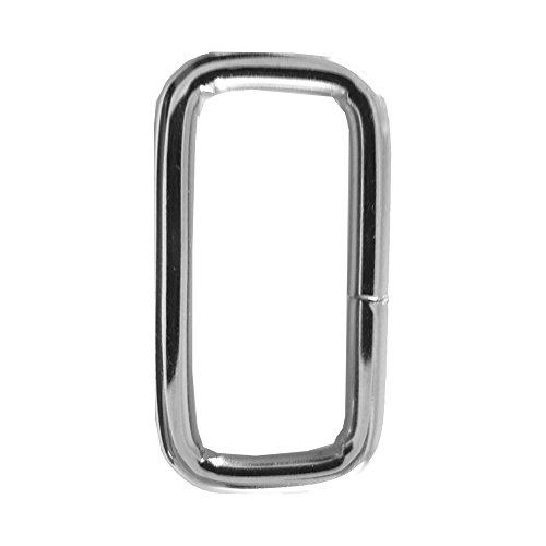 Strap Keeper Loops (Nickel Plate, 1/2