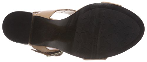 Tacon Marrón Heel Tommy Nude Correa Buckle Mujer 297 Oversized Tobillo Zapatos Feminine y con Silky de Hilfiger para axrnWUqwr