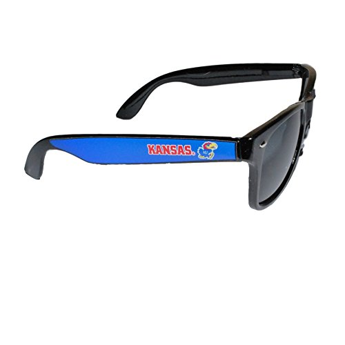 Kansas Jayhawks Black Sunglasses - 5