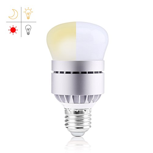 Dusk to Dawn Light Bulb, Witshine 7W LED [2018 Upgraded Version] A19 E26 3000K Photo Sensor Light Bulb with Auto on/off, Indoor / Outdoor Lighting Lamp for Porch, Hallway, Patio, Garage(Warm White) - Installing Outdoor Lamp Post