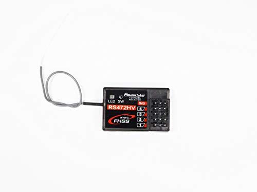 PowerStar RS472HV 2.4G サンワFH3&FH4&FH4T互換受信機 4CH+SSL PSZK130075