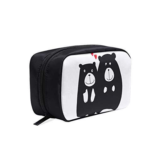 arton Portable Travel Makeup Cosmetic Bags Organizer Multifunction Case Small Toiletry Bags For Women And Men Brushes Case ()