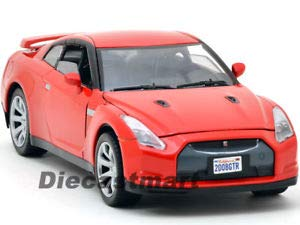 Nissan Skyline GTR R35 RED 1:24 DIECAST Model CAR 73384