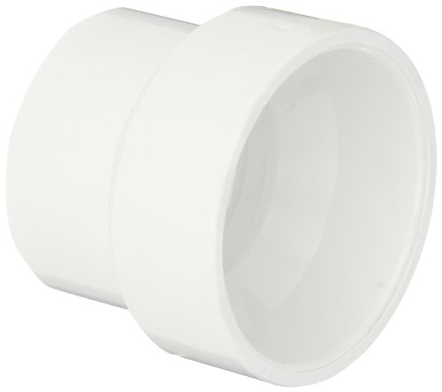 (Spears P102 Series PVC DWV Pipe Fitting, Reducing Coupling, 2