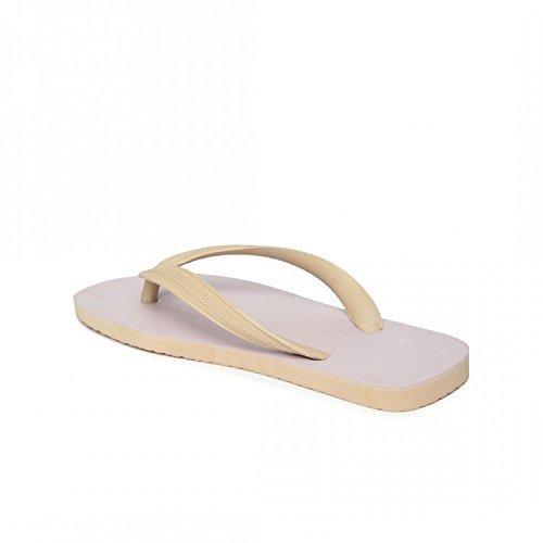 Beige Rubber Flip Flop (10