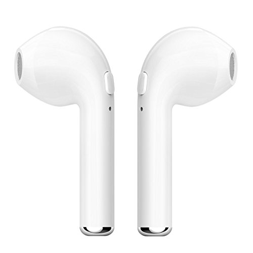 HBQ-i7 AirPods ● Wireless ● Bluetooth v4.2 ● Stereo ● In-Ear ● Twin Earbuds (automatically paired)