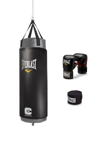 4d113299407 Amazon.com   Everlast C3 Foam Heavy Bag Kit (Grey