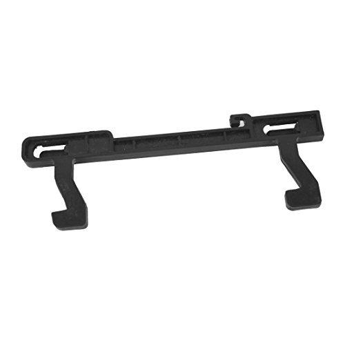 Amazon.com: eDealMax Hogar Negro Plástico Microondas puerta ...