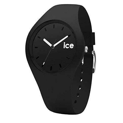 [아이스 워치]ICE-WATCH 손목시계 아이스 오라 ICE Ola 유니섹스 블랙 ICE.BK.U.S.15 [정규 수입품]