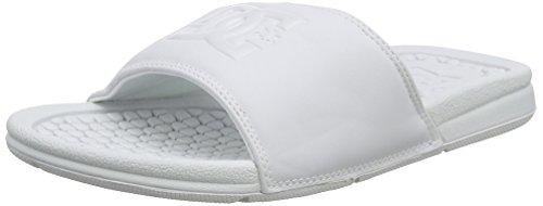 Dc Flip Flops Bolsa Se White/White Size: 37