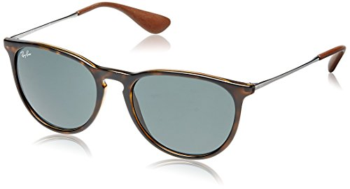 Ray-Ban Womens Erika Sunglasses, Tortoise/Green Plastic