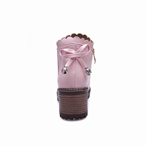 Draagdoek Dames Zip Bowknots Sierrand Schattige Lolita Laarsjes Roze