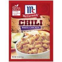 McCormick White Chicken Chili Seasoning Mix - 1 Packet (Pack of 6)