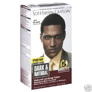 Organic hair dye for men