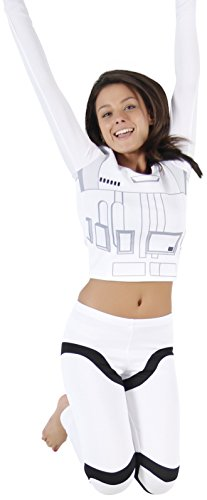 Star Wars Stormtrooper Top and Pants Costume Set (Women's Small) -