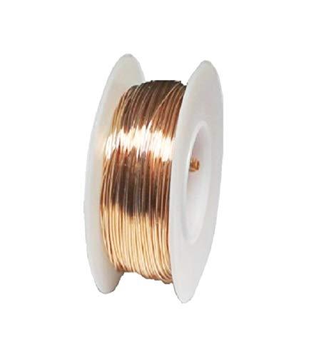 26 Ga Phosphor Bronze 1/4 Lb. Spool Round Wire (Dead Soft) ()