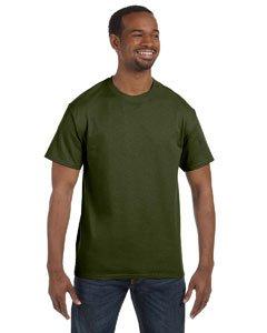 - Jerzees Dri-Power Mens Active T-Shirt Medium Military Green