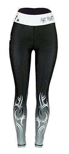 Cheap Sicchic Women's Mat Monster Spat Size Medium Black and White