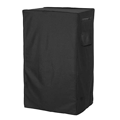 (Heavy Duty Waterproof Electric Smoker Cover, Resists UV and Fade, 30 Inches Square BBQ Cover with Heat Sealed Seams Strap, Fits Masterbuilt 40