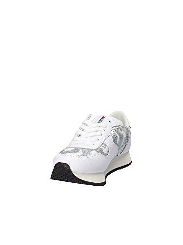 EN0EN00190 Frauen Hilfiger Turnschuhe White Tommy qH7w45qz