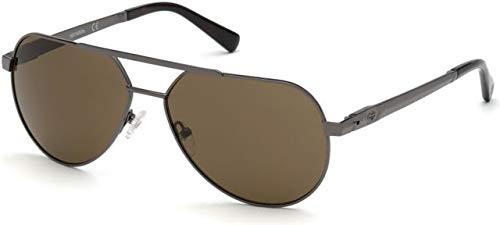 Sunglasses Harley-Davidson HD 0932 X 08E shiny gumetal//brown