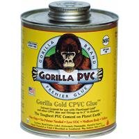 TRUE VALUE 08303 PVC Gold 8 oz CPVC Glue