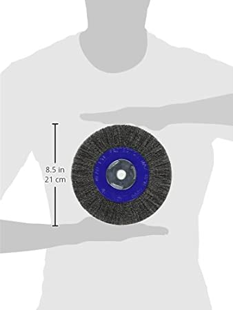 For Bench//Pedestal Grinders Mercer Industries 183010 Crimped Wire Wheel 6 x 3//4 x 2 1//2, 5//8