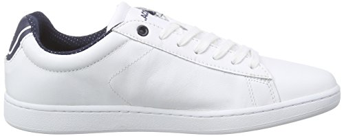 Lacoste Woman Sneaker Carnaby Evo White Blanc - Weiß (WHITE 001)