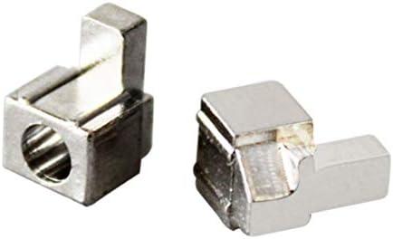ジョイコンオリジナルメタルロックバックルNintendスイッチ用NS NXジョイコン交換修理部品-シルバー