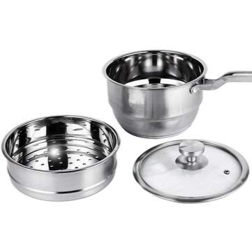 Stainless Steamer - Sports & Outdoor - 1PCs (Concord Glass Bowls)