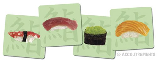 Accoutrements H PC 40929 Sushi Coasters