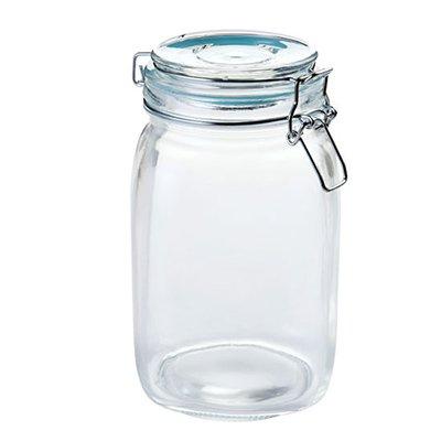 Depósito de almacenamiento depósito de vidrio de botella de brandy jarra de kimchi dulce pot admitir