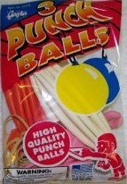 Gayla Educational Products - Punch Balls Assorted Colors Pac