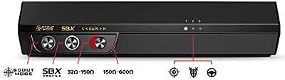 Creative Sound BlasterX G5 7.1 Headphone Surround HD Audio External Sound Card with Headphone Amplifier SB1700
