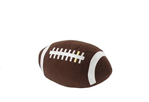 ÖNSKAD Soft toy 11 inch, Pre-Kindergarten Toys Balls Parent-child toys or Plush Sports Ball Dog Toy- American football, brown ()