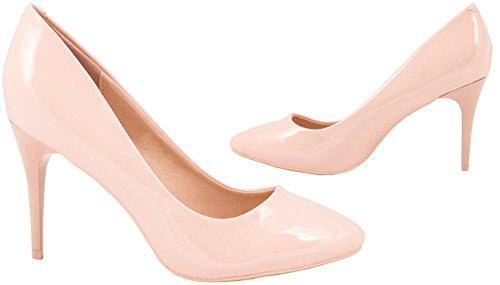 Elara - Pantuflas de caña alta Mujer Rosa