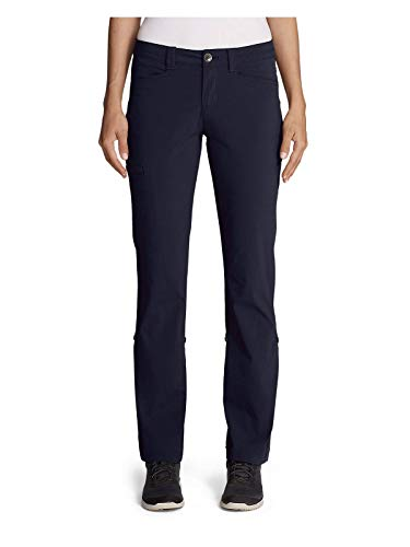 Eddie Bauer Women's Horizon Roll-Up Pants, Atlantic Regular 6 ()