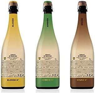 Abbaye DAulne - Pack Degustación Cerveza de Abadia Belga - 2 x Blonde | 2 x Ambrée | 2 x Brune - Pack de 6 Botellas de 75 cl: Amazon.es: Alimentación y bebidas