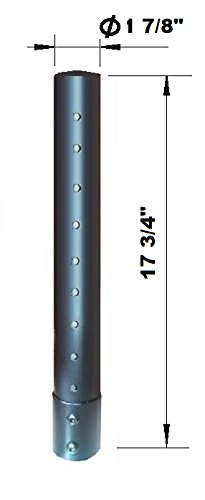 "EZM Deluxe Add-On Pole with 1 7/8"" Diameter"
