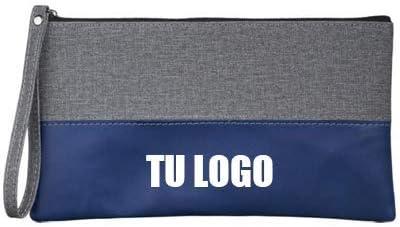 Pack de 50 Unidades x Neceser Jaspeado (Azul, impresión 1 Color): Amazon.es: Equipaje