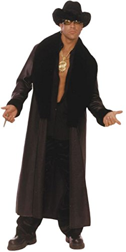Coat Fur Pimp - Morris Costumes Trick Daddy, Large