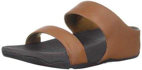 Slitta In Sandalo Pelle Fitflop Lulu Donna Tan 0RT7qxqnw