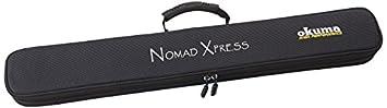 Okuma Nomad Xpress Inshore Rod 3pc 7ft Spin Med Lite