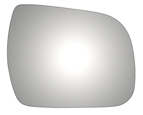 Burco 5441 Convex Passenger Side Replacement Mirror Glass (Mount Not Included) for 11-14 Toyota Sienna (2011, 2012, 2013, - Toyota Sienna 2011 Glass Mirror