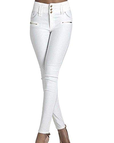 Lanceyy Libero Pantaloni Tempo Eleganti Donna Elasticit f5qfr